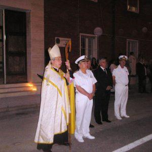 Il Vescovo alla processione