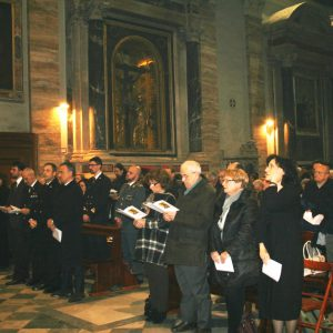 LA CELEBRAZIONE PER I 46 ANNI DI SANT'EGIDIO (FOTO SABATINO CASO)