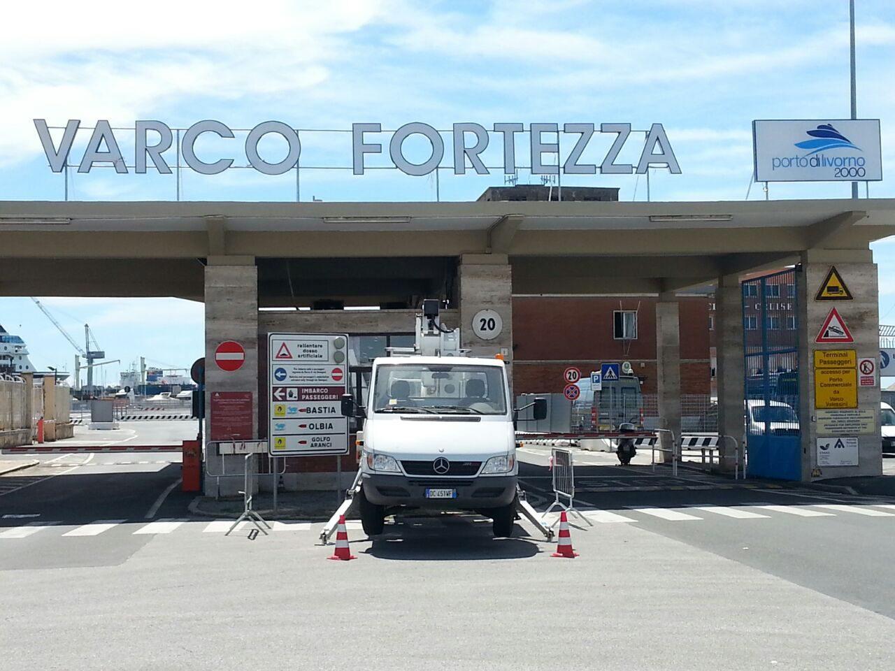 """Il varco in porto? """"Varco Fortezza"""" - QuiLivorno Archivio"""
