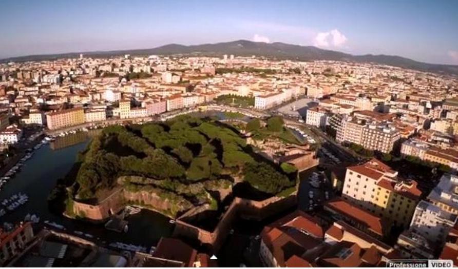 """""""Volando Livorno"""": Livorno dal drone - QuiLivorno Archivio"""